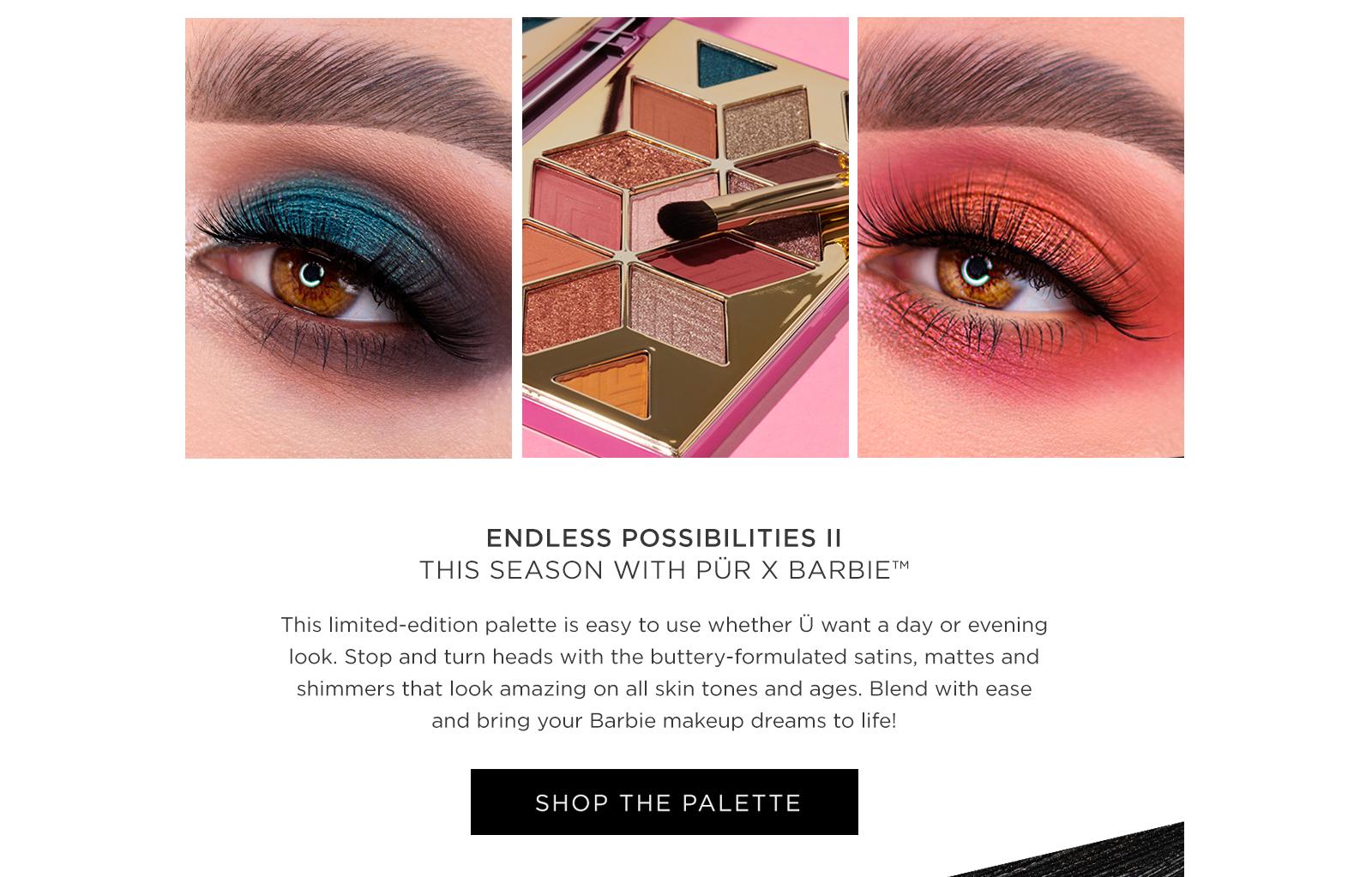 PÜR X Barbie™ - Collections - Makeup
